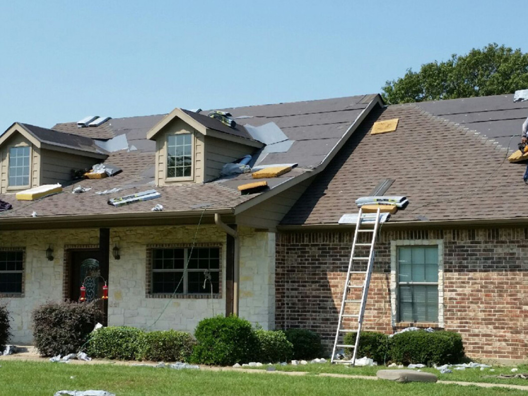 Trust us to install your new roof